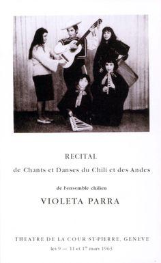 Violeta Parra Recital, Salvador, Chile, People, Movies, Movie Posters, Vintage, Woman, Photos