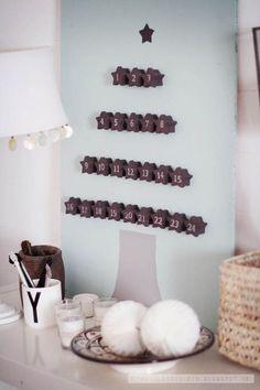 Calendrier de l'Avent DIY - http://my-diy.fr/diy-par-evenement/un-calendrier-de-lavent-diy/