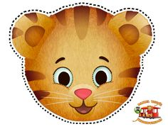 Daniel Tiger cutout mask #pbs #kued