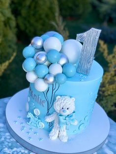 Boys First Birthday Cake, Baby Birthday Cakes, Baby Boy Cakes, Cakes For Boys, Lava Cake Recipes, Lava Cakes, Easy Cake Decorating, Cake Decorating Techniques, Pretty Cakes