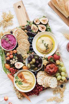 EPIC VEGAN 'CHEESE' PLATTER. 14 Vegan Wedding Dinners Your Carnivore Guests Will Love, Too #purewow #vegan #vegetarian #lunch #dinner #dessert #wedding #breakfast #vegancheese #veganappetizers #entertaining #cheeseplate #appetizers