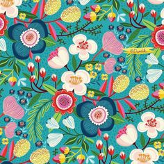 One of the best pattern makers of our time my artist Helen Dardik @helen_dardik writes: today fresh from the oven - a new floral pattern to show you... #pattern #repeat #surfacedesign #floraldesign #floral #appleblossom #brightfkoral #flowers #helendardik #lillarogers #art #illustration #artagent #surfacedesign #artlicensing #creativelife #artistsuccess