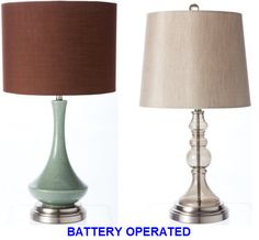 Unique Battery Operated Table Lamps with Contemporary Design: Magnificent Modern Eclectic Battery Opereated Table Lamps Design ~ Peerflix Battery Operated Table Lamps, Cordless Table Lamps, Wire Table, Lampshade Designs, Large Lamps, Retro Lamp, Contemporary Lamps, Contemporary Design, Cool Lamps