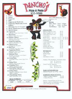 Pancho's Pizza-Saskatoon