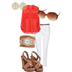 """Summer"" by brittany-schmidt on Polyvore"