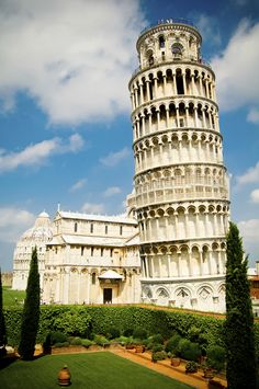 Thinking about a trip to Italy? Don't miss the chance to pose by the iconic Leaning Tower of Pisa.