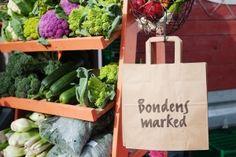 Høstmarked i Trondheim - Bondens marked - kortreist mat