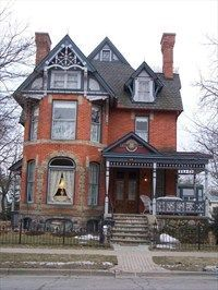 Brick Victorian House Colors