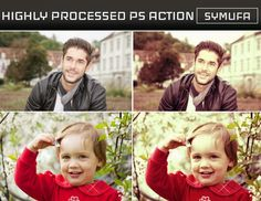 Photo Resource Kingdom: FREEBIE OF THE DAY – HIGHLY PROCESSED PHOTOSHOP AC...