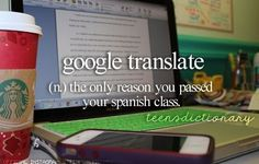 Or any other class like French…