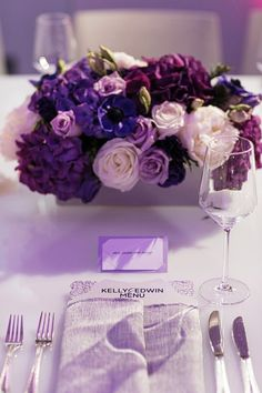 PANTONE Color of the Year 2014 - Radiant Orchid wedding inspiration and it happens to be my favorite color.