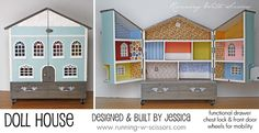 amazing dollhouse built by jessica of running with scissors