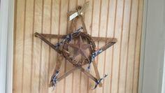 Wood star $12