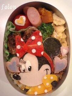 Minnie Mouse bento
