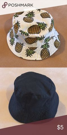 5a7a7541be9 🍍🍍Pineapple Print Bucket Hat 🍍🍍 Really cool bucket hat with pineapple  print and