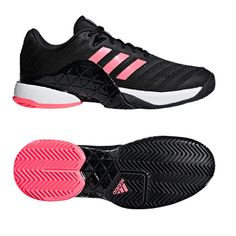 the latest bbb61 a9066 adidas Barricade 2018 Men s Tennis Shoes Racquet Miami Open Black NWT  AH2092  adidas Artificial Leather