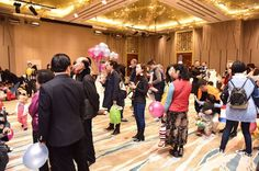 Our large Ballroom was perfect for the Spring Party! If you are planning to organize a big event in Shanghai, Shanghai Town & Country Club is a great place for that!