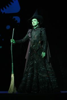 "Teal Wicks Favourite ""Elphaba"" 