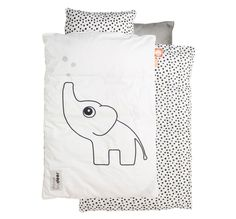 L'adorable éléphant Elphee de la marque Done by Deer accompagne les bambins au…