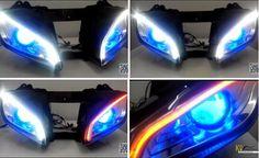 42 Best Yamaha LED Headlight images in 2015 | Custom headlights