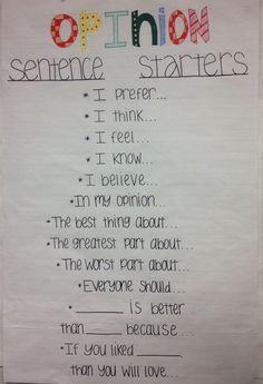 Opinion Anchor Chart More is part of Classroom writing - Kindergarten Writing, Teaching Writing, Writing Activities, Writing Help, Preschool Learning, Writing Ideas, Opinion Writing, Persuasive Writing, Essay Writing