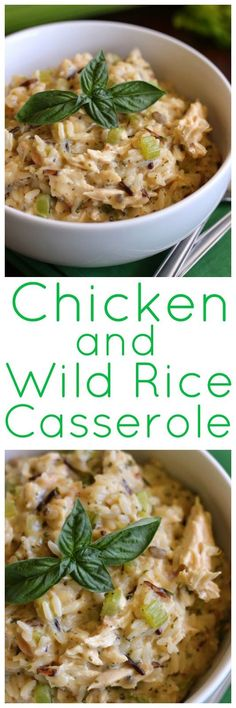 Eat Cake For Dinner: Pat's Chicken & Wild Rice Casserole