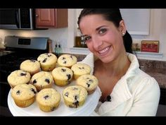 How to Make Homemade Blueberry Muffins - Recipe by Laura Vitale - Laura in the Kitchen Ep. 106