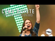 Christine D´Clario - Como Dijiste (LIVE) - #JesusFest - YouTube Worship Songs, Youtube, Singing, Christian Songs, Christian Music, Te Amo Mi Amor, Moving Wallpapers, Christians, Youtubers