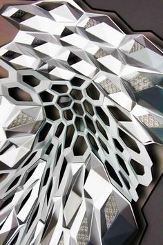 Zaha Hadid - King Abdullah Petroleum Studies and Research Center - Riyadh, Saudi Arabia - 2009 Parametric Architecture, Parametric Design, Modern Architecture House, Futuristic Architecture, Amazing Architecture, Modern House Design, Interior Architecture, Architecture Websites, Business Architecture