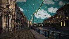 love the backgrounds!  Trussardi's Sky Watcher