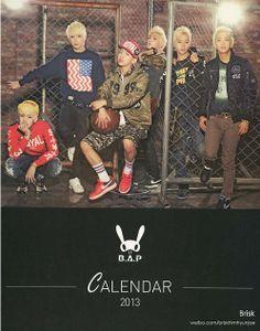 BAP Hello 2013 Calendar