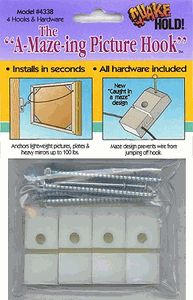 Quakehold! A-Maze-ing picture hook (for earthquakes) - Nate