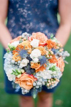 Pastel Bridesmaid Bouquet | Brklyn View Photography | TheKnot.com