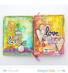 mini z art journal Journal D'art, Art Journal Pages, Art Journaling, Journal Ideas, Journal Topics, Creative Journal, Bullet Journal, Mixed Media Journal, Mixed Media Canvas