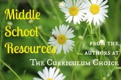 Choosing Middle School Homeschool Curriculum - an ultimate guide from Curriculum Choice authors - with a giveaway of Answers in Genesis History Revealed!