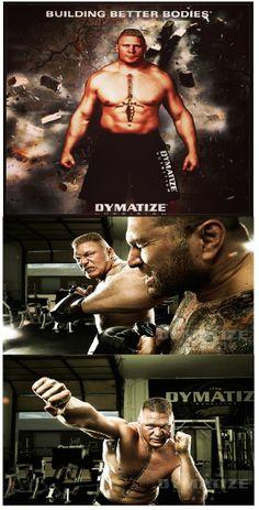 #Dymatize: Building Super Humans Through #Sports_Supplements - #brock_lesnar is the brand ambassador http://dietkart.blogspot.in/2014/02/dymatize-building-super-humans-through.html