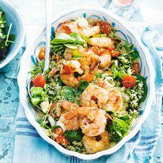 Recept - Couscous met pittige garnalen - Allerhande