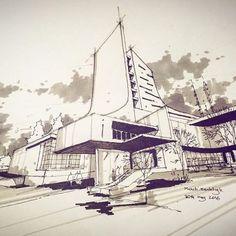 #skeych#sketchy#sketchdaily #sketchers #sketchbook #sketching /#sketcher #sketches#art#artist#artistic#arq#arkitektur #arkitecture_art #arquitetura #arquitectura