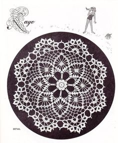 Elizabeth Hiddleson Doily Crochet Patterns