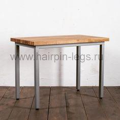 """LOFT-X (@loft_x) в Instagram: «Обеденный стол """"Классик"""" в индустриальном стиле, столешница из массива дуба или сосны на выбор.…»"""