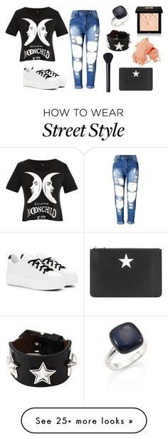 """""""Untitled #330"""" by bluebxrry on Polyvore featuring Kenzo, Givenchy, Bobbi Brown Cosmetics, NARS Cosmetics and John Hardy"""