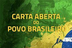 Carta aberta do povo brasileiro ao Congresso Nacional