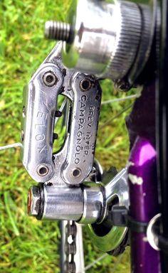 Campagnolo Velox on our Freddie Grubb Galibier. See more at www.glorydays.cc