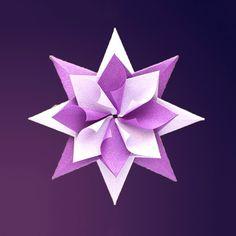 origami débutant facile fleur papier
