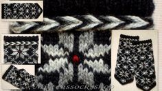 Completely original high quality handknittted by mittenssocksshop, $30.00