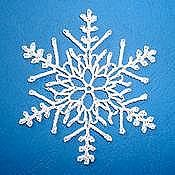 Ravelry: Crystal Fantasy Snowflake pattern by Susan Gater