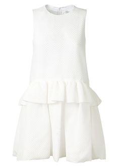 Victoria, Victoria Beckham Robes :: Robe en cloqué de soie mélangé Victoria, Victoria Beckham | Montaigne Market