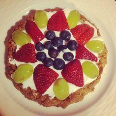 healthy dessert pizza @relletonesup