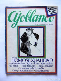 Coleccionismo de Revistas y Periódicos: AJOBLANCO LOTE DE 28 REVISTAS (1975/1977/1978+ NUEVA ÉPOCA (1988/1992)VER FOTOS Y DESCRIPCIÓN - Foto 26 - 67251977