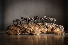 Beautiful Together  l  Bronze  l  9x24x4  l  $3,700